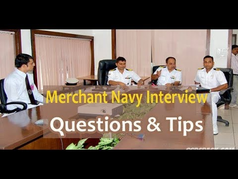Deck Cadet & Marine Engineer Interview in Merchant Navy  : Questions & Tips