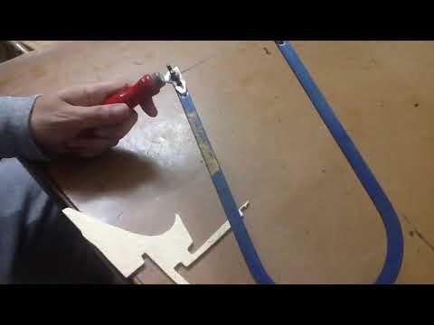 طريقة استخدام منشار الأركت