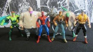 Человек-Паук 1994. Вторая волна. Распаковка и обзор фигурок (игрушек) фирмы Toy Biz. Марвел