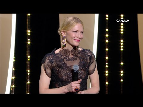Standing ovation pour Cate Blanchett, présidente du jury  - Cannes 2018
