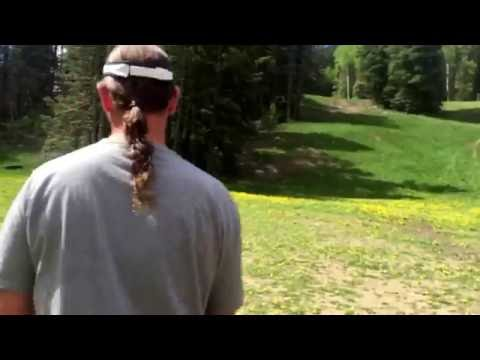 Summer  vacation 2016 day 2 disc golf sipapu nm