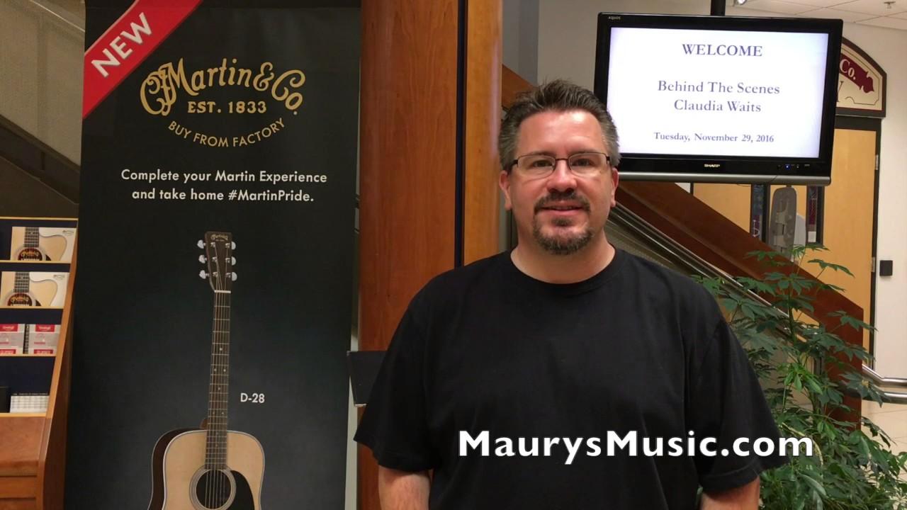 Maury's Blog - Maury's Music