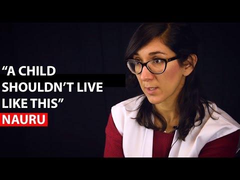 "NAURU | ""A child shouldn't live like this"""