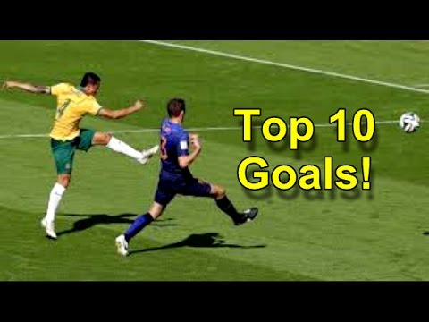 Top 10 Goals! Fifa World Cup Brazil 2014 HD