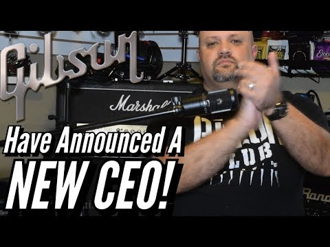 The Gibson Guitar Company Has Announced A New CEO! Mp3