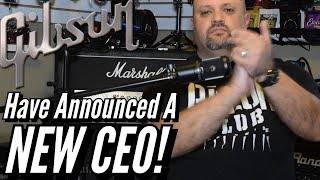 The Gibson Guitar Company Has Announced A New CEO!