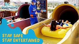 Yas Waterworld | Stay Safe, Stay Entertained!