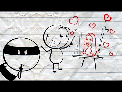 New Da vanci ~ Pencil Cartoons #13 [4k]