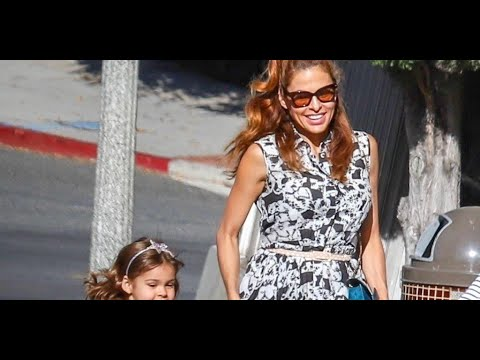 Eva Mendes said when she starts showing daughters to subscribers