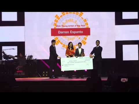 Darren Espanto Wins Wish Young Artist of the Year - YouTube