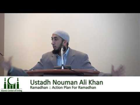 Ramadan Action Plan----Nouman Ali Khan