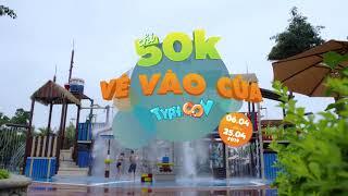 Công viên nước Hạ Long mở cửa 50k