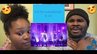 FIFTH HARMONY - DOWN LIVE @ THE JIMMY FALLON SHOW - REACTION