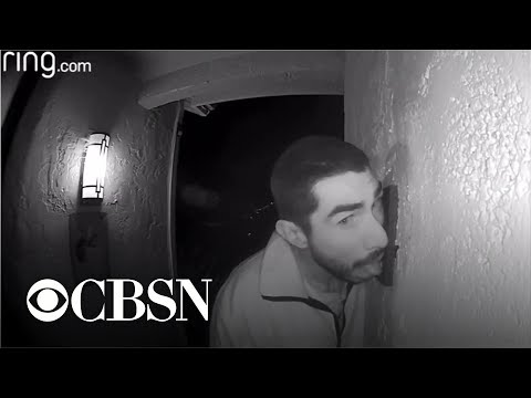 The News Junkie - This Guy In California Made Out With A Doorbell