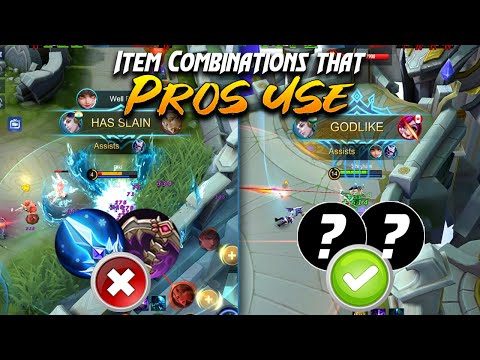 Items combo that even the pros suggest you to have | Mobile Legends