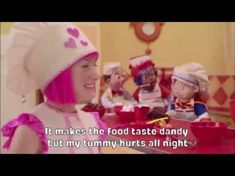 LazyTown - Cooking By the Book (Karaoke Instrumental with lyrics)