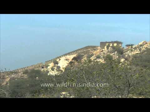 Ruins of Fort in Dausa, Rajasthan