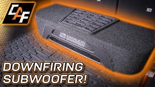 HOW DOES IT SOUND? - Downfiring Subwoofer Build Finished!