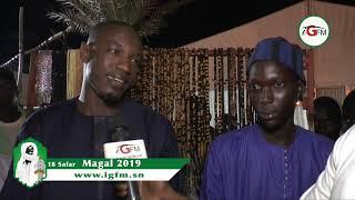 Pape Djibril Fall crée l'attraction au Magal de Touba