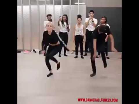 White girl nails Nigerian choreography