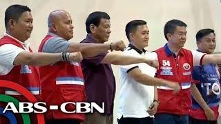 Duterte ibinida ang PDP-Laban bets sa Tuguegarao | TV Patrol