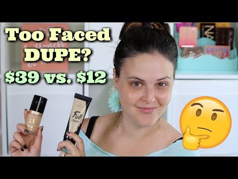 Too Faced Born This Way Foundation DUPE? Aritaum Full Cover BB Cream REVIEW   What the ***K?