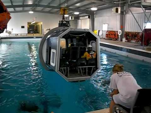 Helicopter Underwater Egress Training