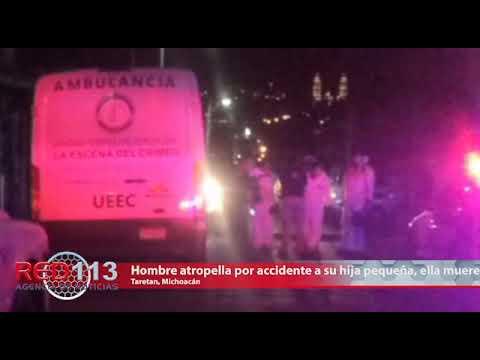 VIDEO Hombre atropella por accidente a su hija pequeña, ella muere camino a un hospital