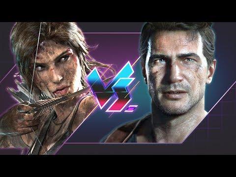 Tomb Raider Vs. Uncharted | Versus