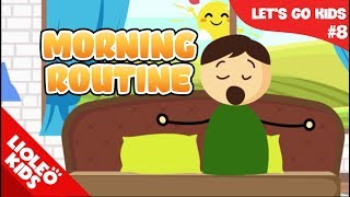 Bé học tiếng Anh về Thói quen buổi sáng [Trọn bộ 20 chủ đề từ vựng sách Let's go] [Lioleo Kids]