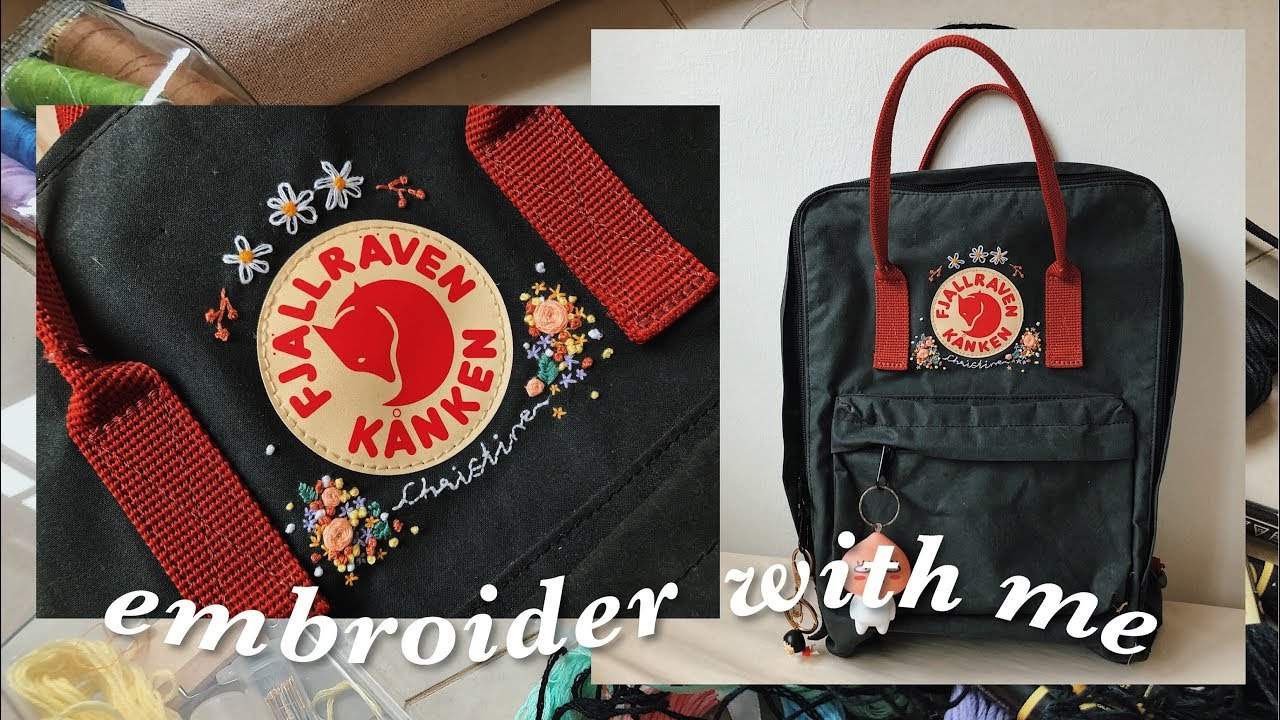 Embroidery UPGRADE for Backpack