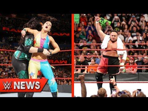 Bayley Injured On RAW! Samoa Joe Winning Universal Title? - WWE News Ep. 131
