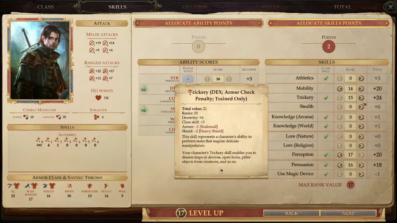 Pure Archer Build - Pathfinder Kingmaker