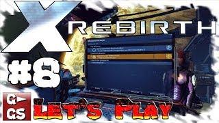 Lets Play X Rebirth #8 Handel und Detailwahnsinn Gameplay Space Simulator deutsch HD kommentiert
