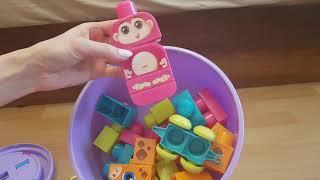 Іграшка Mega bloks Незграбний слон. Огляд.