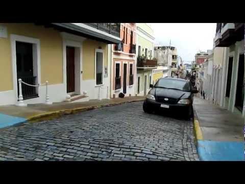 San Juan, Puerto Rico - biking the beautiful back streets of the city..