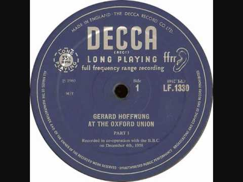 Gerard Hoffnung 'French Widows & Advice for Tourists'