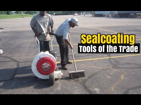 Tools Of The Trade - How To Get Started In Asphalt Sealcoating
