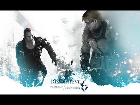 Resident Evil 6 Jake & Sherry All Cutscenes Movie