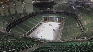 Time-Lapse Arena Flip: Disney On Ice to NBA Utah Jazz Game