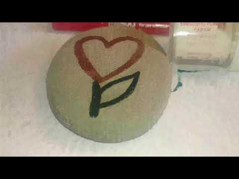 how-to:-emboss-rocks-using-embossing-ink,-powder,-&-heat-tool.-music:-libre-by-ikson