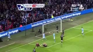 Full HD manchester city vs fulham 2 0 19 01 2013 goals