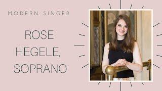 Artist Feature: Rose Hegele, Soprano