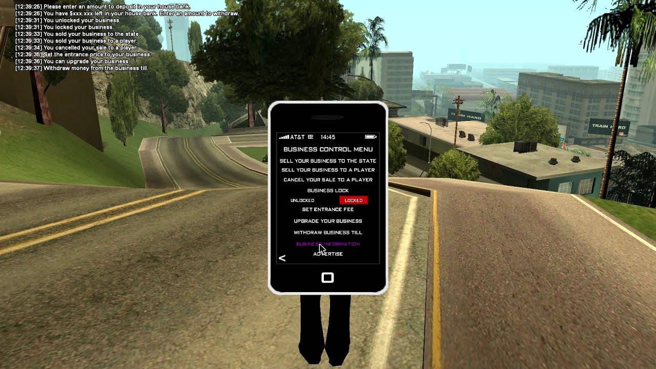 iPhone samp test by jj20k