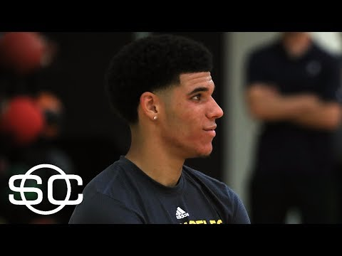 Lonzo Ball's Conditioning An Issue At Lakers' Work Out | SportsCenter | ESPN