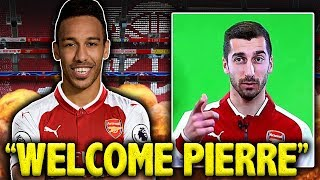 LEAKED: Aubameyang's Transfer To Arsenal CONFIRMED By Henrikh Mkhitaryan?! | Transfer Talk
