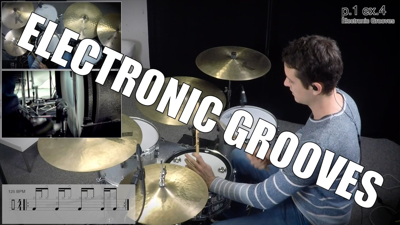 Daily Drum Lesson - Electronic Grooves - YouTube