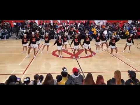 Vallejo High School Cheerleaders 2020