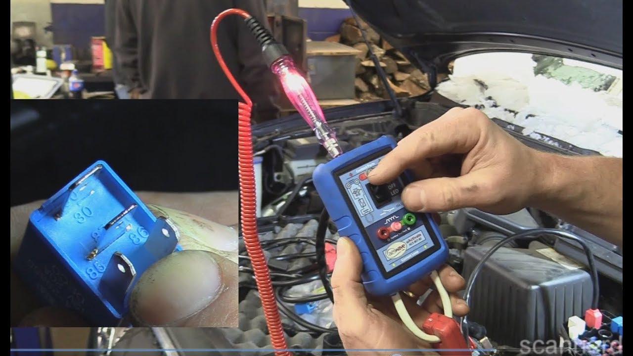 No Start Testing Basics Spark Injector Pulse And Fuel Pressure 2002 Hyundai Xg350 Fuse Diagram Santa Fe