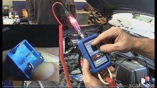 No Start Testing Basics - Spark Injector Pulse and Fuel Pressure Hyundai Santa Fe